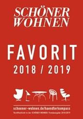 Schöner Wohnen Auszeichnung Favorit 2019